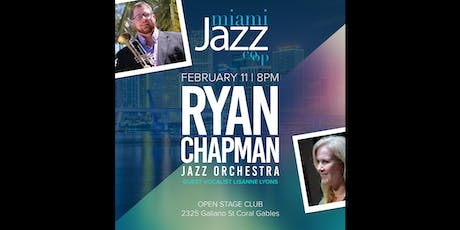 MJC Monday JAZZ - Ryan Chapman Jazz Orchestra with guest Lisanne Lyons tickets