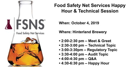 FSNS Technical Session & Happy Hour tickets