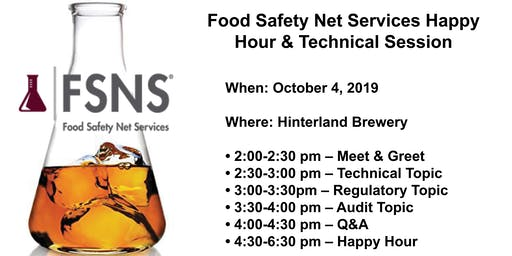 FSNS Technical Session & Happy Hour