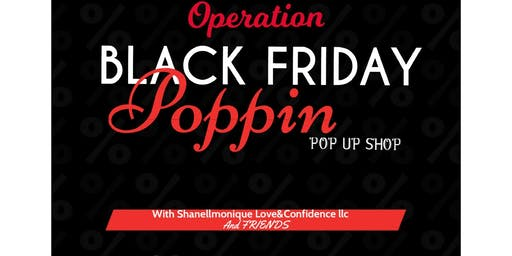 Black Friday Popping Pop & Shop