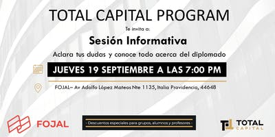 Total Capital Program - Sesión Informativa