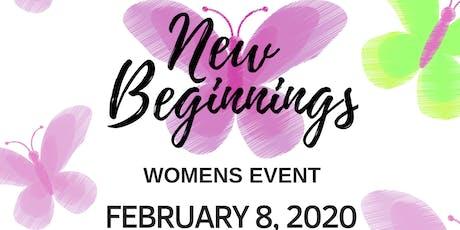 New Beginnings 2020! tickets