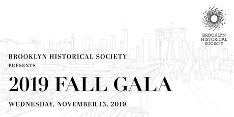 Brooklyn Historical Society's 2019 Fall Gala tickets
