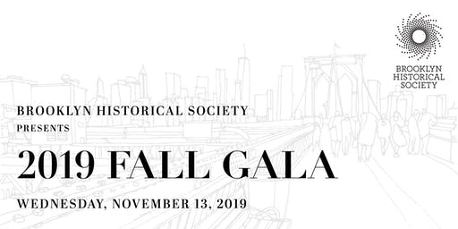 Brooklyn Historical Society's 2019 Fall Gala