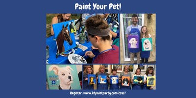 Paint Your OWN Pet Portrait - 10/12/19