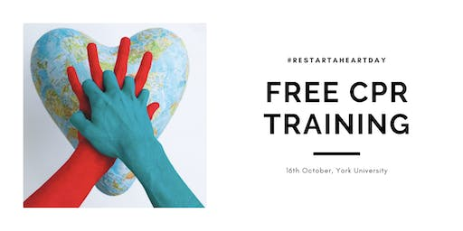 Free CPR Training - #Restart a Heart Day 2019