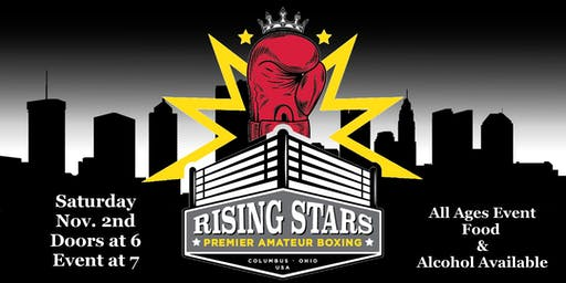 Rising Stars Boxing November 2nd Boxing Event