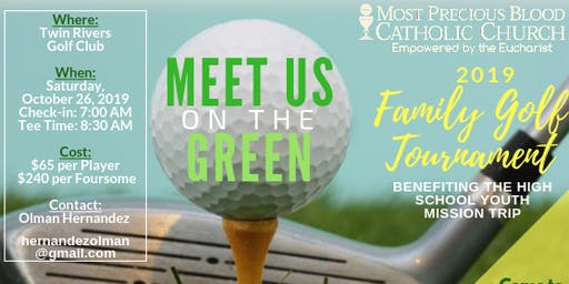 2019 Family Golf Tournament