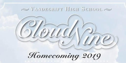 Vandegrift Cloud Nine Homecoming Dance Tickets 2019