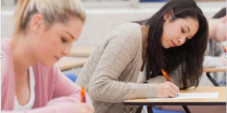 SAT TEST PREP CLASS tickets