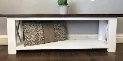Entryway bench/table workshop