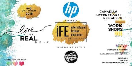 Free Fashion Workshops | International Fashion Encounter 9th Edition tickets
