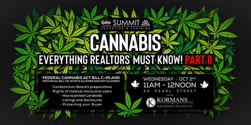 CANNABIS: Everything Realtors MUST Know!