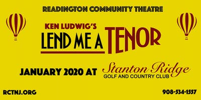 Ken Ludwig's Lend Me A Tenor