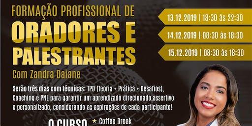 FORMAÇÃO PROFISSIONAL DE ORADORES E PALESTRANTES - ORATÓRIA ZANDRA DAIANE