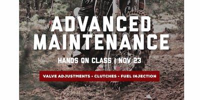 Advanced Maintenance Class