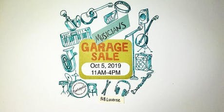 Musicians Garage Sale tickets