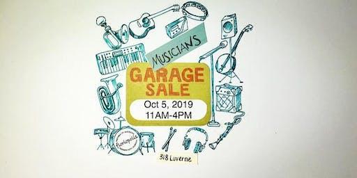 Musicians Garage Sale