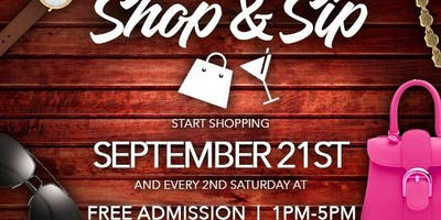 ***NEW DATE*** 6th Edition of Shop & Sip Tampa