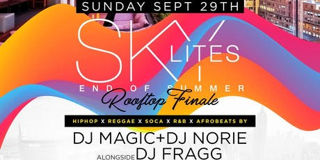 SKY LITES Rooftop DayParty at Sky Room - Summer Finale tickets