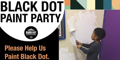 Black Dot Paint Party