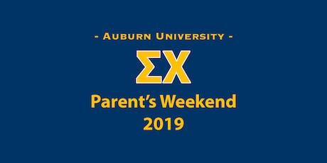 Parent's Weekend 2019 tickets