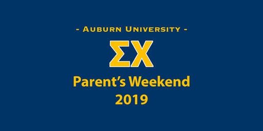 Parent's Weekend 2019