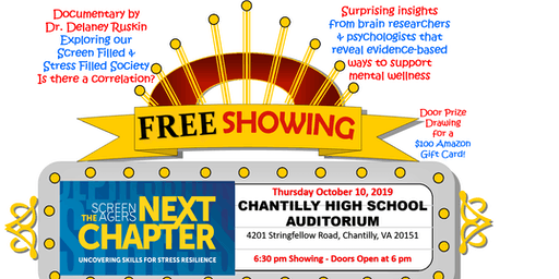 ScreenAgers: Next Chapter FREE Movie Showing