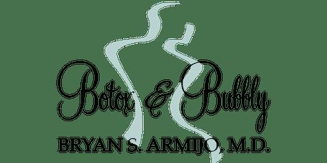 Botox & Bubbly tickets