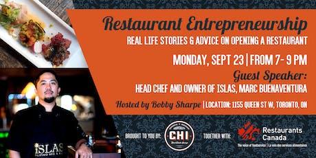 Restaurant Entrepreneurship: Real Life Stories & Advice  tickets