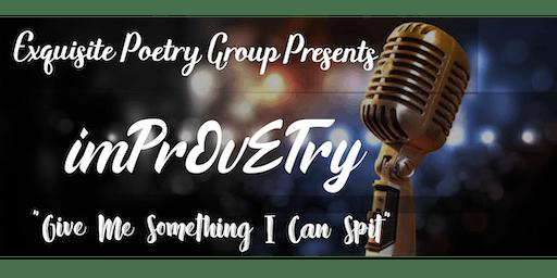 Exquisite Poetry Group Presents imPrOvETry