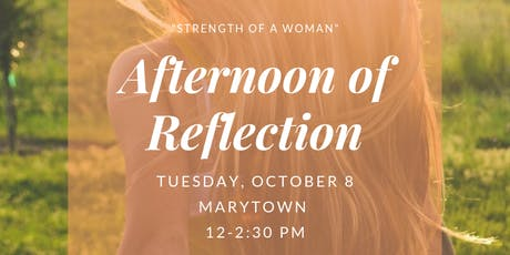 Catholic Women's Afternoon of Reflection tickets