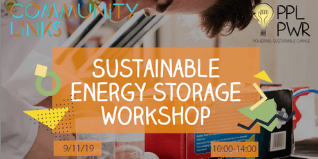 Sustainable Energy Storage Workshop tickets