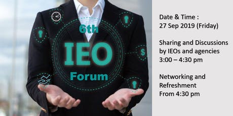 The 6th IEO Forum tickets
