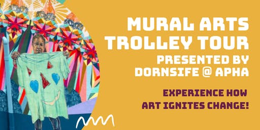 Mural Arts Trolley Tour presented by the Dornsife School of Public Health
