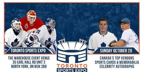 Toronto Sports Expo - October 20, 2019 tickets