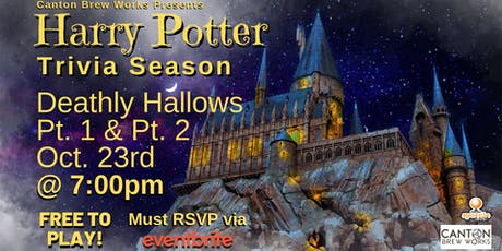 A season of Harry Potter trivia @ Canton Brew Works! Week Four tickets
