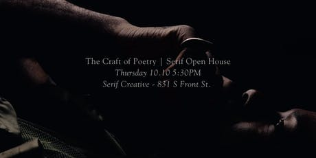 The Craft of Poetry Film Premiere | Serif Open House tickets
