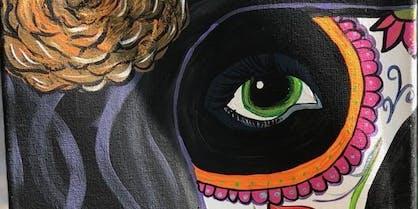 WSBN Dia De Los Muertos Paint Party Fundraiser