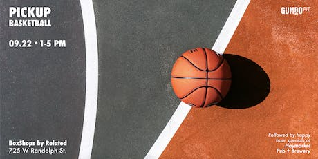 Pick-up Basketball - Presented by GumboFit tickets