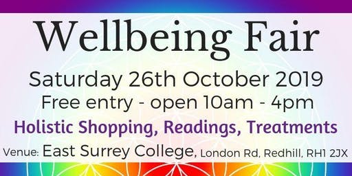 Wellbeing Fair - Redhill