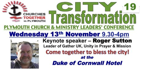 Plymouth City Transformation 19 tickets