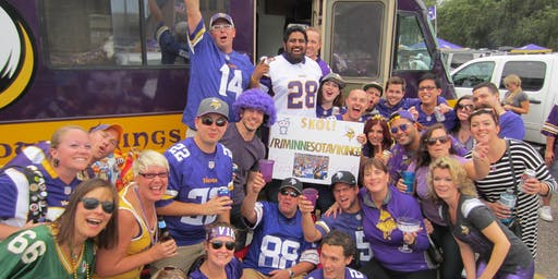 Vikings vs Raiders Tailgate - Purple Havoc RV - California Burger Edition