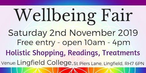 Wellbeing Fair - Lingfield