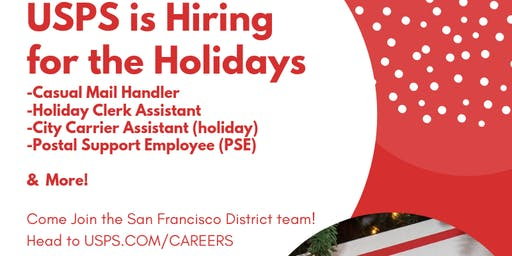 USPS Bayview Holiday Hiring Event