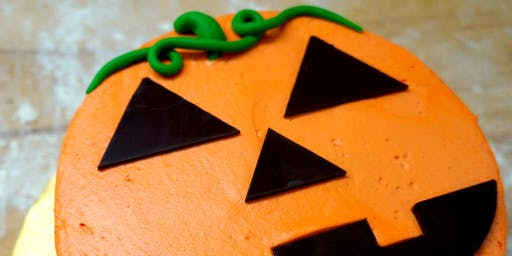 Kids Halloween Cake Decorating at The Works! (ages 4-12)