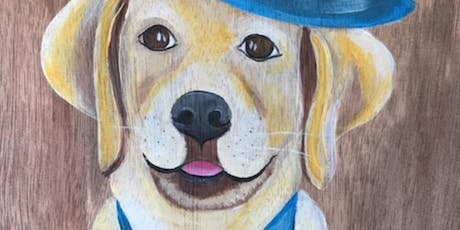 "Le Paint - Dip, Dab, Drink "" Paint Your Pet""  tickets"