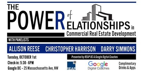 The Power of Relationships in Commercial Real Estate Development tickets