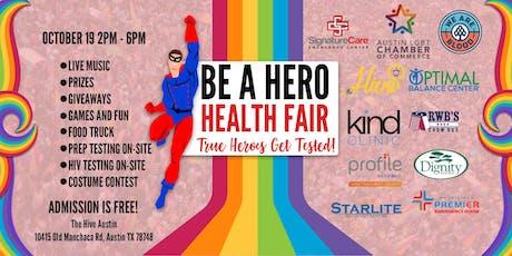 Be a Hero Health Fair tickets
