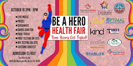 Be a Hero Health Fair